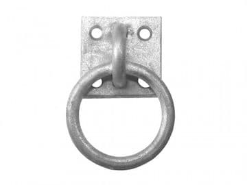 Ring On Plate - Galvanised
